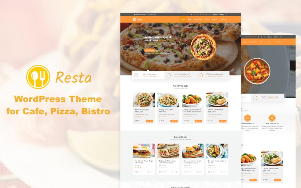 RestaWP – Premium Restaurant Theme